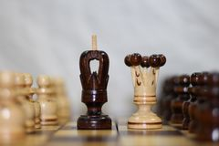 Chess board game,strategy games,ideas,management or leadership concept royalty free stock photo