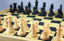 Chess board games Royalty Free Stock Photography