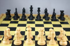 Chess board games Royalty Free Stock Photos