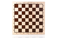 Chess board isolated Stock Photo