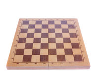 Chess board isolated Stock Photography