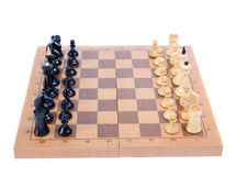 Chess board isolated Stock Images