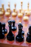 Old chess. Royalty Free Stock Photography