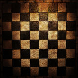 Chess board. Old vintage chess board texture or background Royalty Free Stock Photography