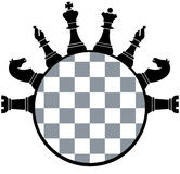 Chess board pieces. Vector illustration of chess board pieces stock illustration