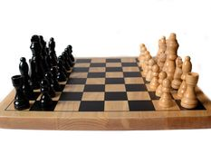 Chess Board Set Up Royalty Free Stock Photo