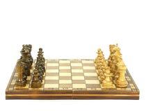 Chess board setup Stock Photography