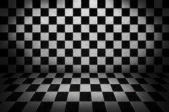Chess Board Stage Background Stock Photos