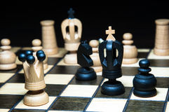 Chess. Board with .  tournament Stock Photography