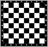 Chess Board Vector Graphic Royalty Free Stock Image