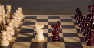Chess board Royalty Free Stock Photography