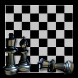 Chess Boardgame Background Royalty Free Stock Photography