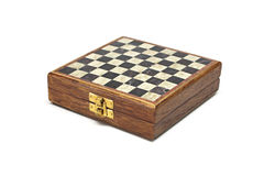Chess box. Royalty Free Stock Photography