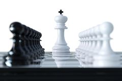 Chess business concept Stock Images