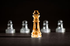 Chess business concept. Royalty Free Stock Photos