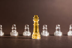 Chess business concept. Stock Images