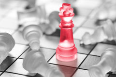 Chess business concept. Royalty Free Stock Photography