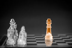 Chess business concept. Royalty Free Stock Image