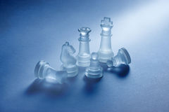 Chess Business Strategy  Stock Photos