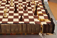 Chess cake Royalty Free Stock Images