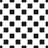 Chess cake pattern seamless vector royalty free illustration