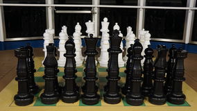 Chess on the Carnival Breeze Stock Images
