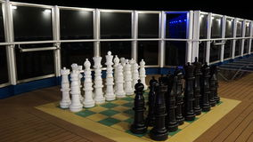 Chess on the Carnival Breeze Royalty Free Stock Photos