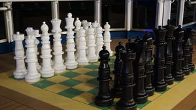 Chess on the Carnival Breeze Royalty Free Stock Photo