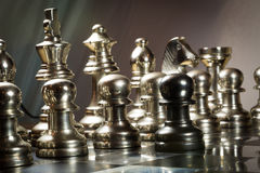 Chess Challenge. Challenge concept, picture taken to show the concept of courage and being brave Stock Photography
