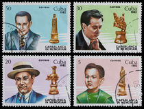 Chess champion Stock Image