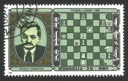 Chess Champion Lasker royalty free stock photo