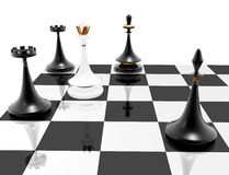 Chess: checkmate royalty free stock image
