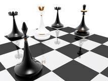 Chess: checkmate Stock Images