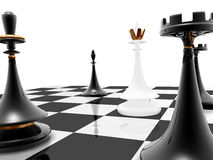 Chess: checkmate stock photo