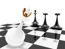 Chess: checkmate Royalty Free Stock Photos