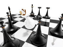Chess: checkmate royalty free stock images