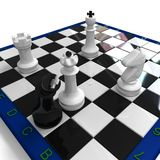 Chess checkmate Stock Images