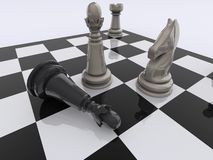 Chess checkmate Royalty Free Stock Photo