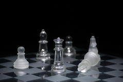 Chess checkmate Stock Photo
