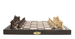 Chess on the chess board Royalty Free Stock Images