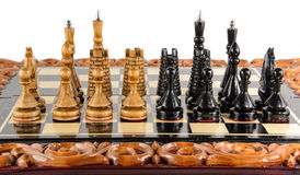 Chess. Chess board Royalty Free Stock Photo
