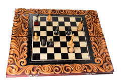Chess. Chess board Royalty Free Stock Photography