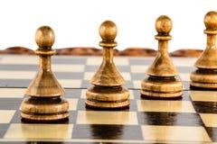 Chess. Chess board Stock Photo