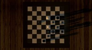 Chess, Chess Game, Lady Stock Images