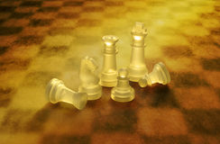 Chess Chessboard Background Strategy Royalty Free Stock Photos