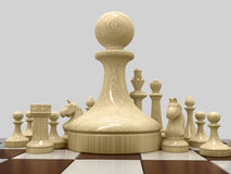 Chess 5 Royalty Free Stock Images