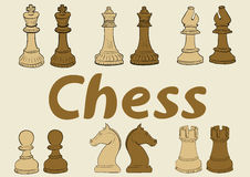 Chess clipart Stock Photos