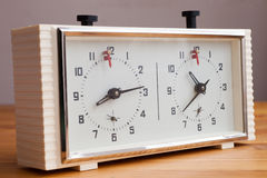 Chess clock Stock Photography