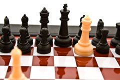 Chess combination Stock Images