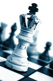 Chess competition Stock Images